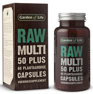 Vitaminen voor 50 plussers